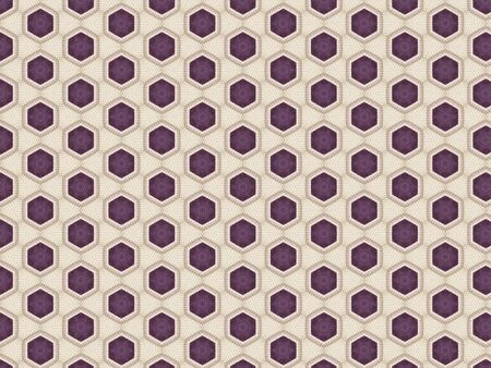 background with a pattern of threads knitted blanket with openwork weaving white and purple color