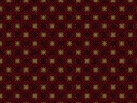 decoration red fabric ash gold fabric flower shape