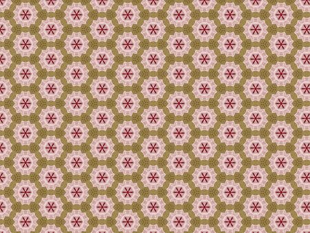 background pattern fabric bright pink five pointed star bright red snowflake