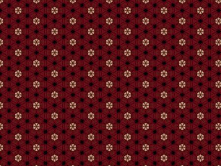 woven fabric pattern red weaving with black and pink fabric Stok Fotoğraf