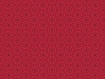 festive pattern red star fabric curtains decorative Stok Fotoğraf