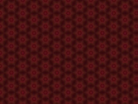 festive christmas pattern star red fabric ornament
