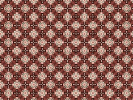 background wooden cross with a pattern of flowers made of plastic glass transparent metal