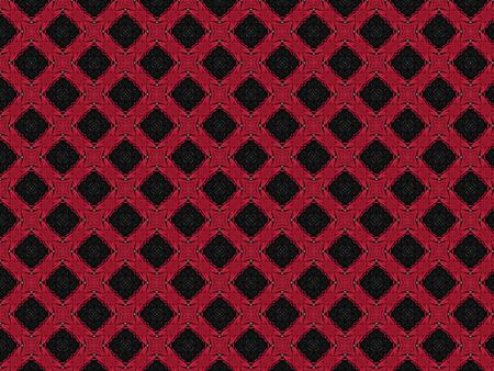 Background pattern design dress texture geometric red fabric combined with black
