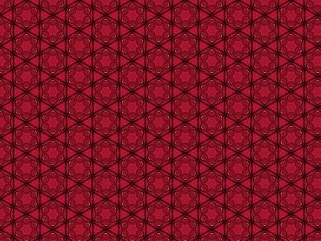 background fabric elegant openwork red decorated artistically floral design star