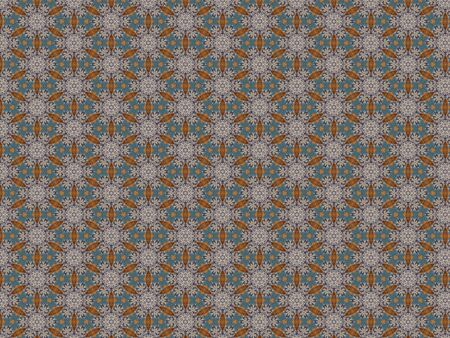 Background winding pattern blue star christmas brown Zdjęcie Seryjne - 132097777