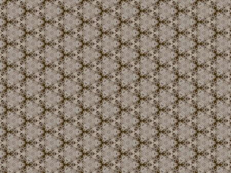 Background plaid brown pattern winding white interlaced canvas geometric