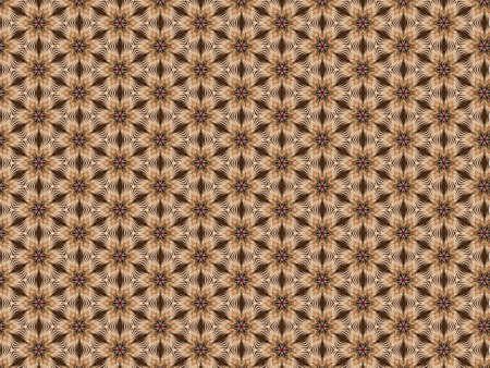 geometric background pattern of straw