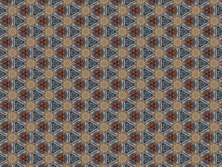 background pattern ornament scrapbooking fabric braided fine tangled twisted threads different geometric shapes braid decor vintage design colored Banque d'images