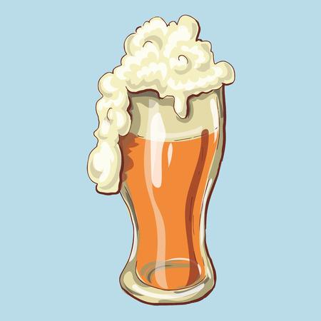 Cheers Happy St. Patricks Day Beer Mugs. Vector illustration