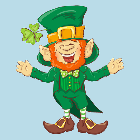 Collection of Leprechaun for Saint Patrick's design vector illustration.
