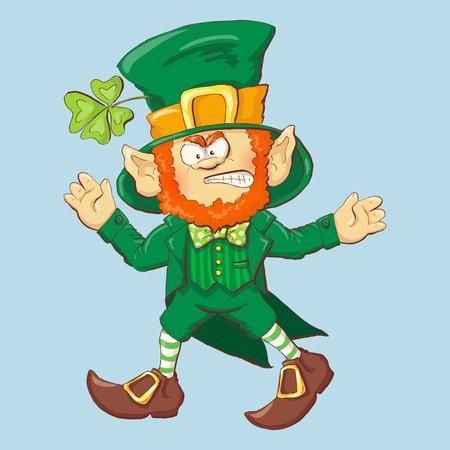 Collection of Leprechaun for Saint Patricks design vector illustration. Illustration