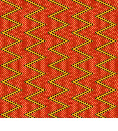 African traditional ornament. Seamless pattern with geometric ornament. Ancient traditions. Vector. Banque d'images - 140908664