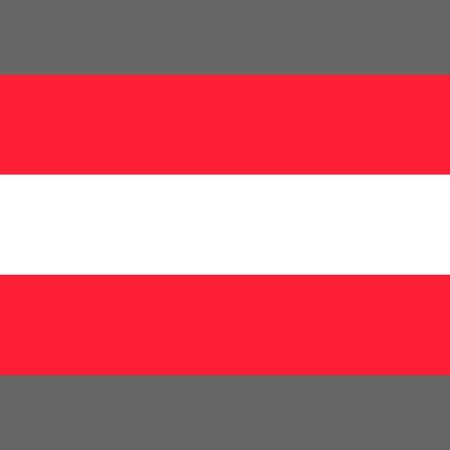 State flag of Austria. Digital reproduction. Vector. Vektoros illusztráció