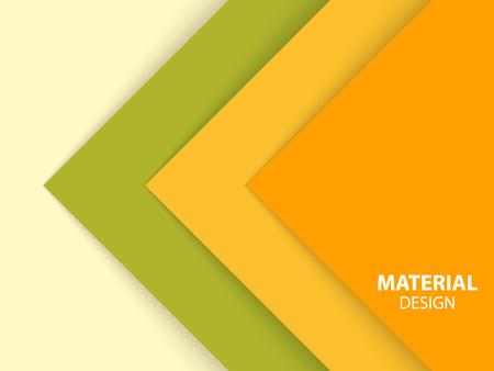 Abstraktes Material Design. Vektor-Illustration.