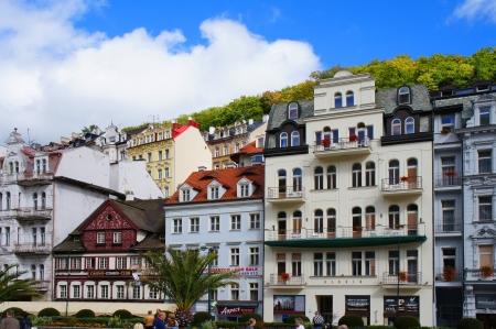 vary: Mlynske street of Karlsbad  Karlovy Vary