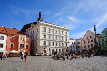 ceske: Center of Ceske Krumlov, Czech republic Editorial