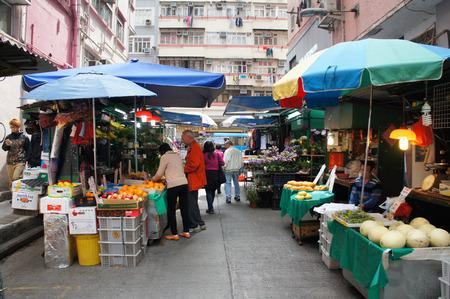 홍콩 거리 시장 스톡 콘텐츠 - 27693369
