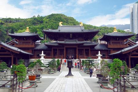 future buddha: Chi Lin Nunnery