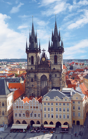 Church of Our Lady in front of Tyn, Prague, Czech Stock Photo - 28039184