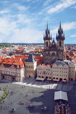 Church of Our Lady in front of Tyn, Prague, Czech Stock Photo - 28039186