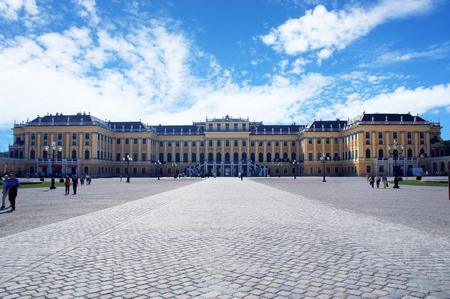 schonbrunn palace: Schonbrunn Palace at sunny day