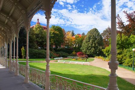 vary: Dvorzhakovy Sady (Dvorzhakov`s Garden) of Karlovy Vary