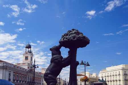 Puerta del Sol, Bear and the Madrono Tree
