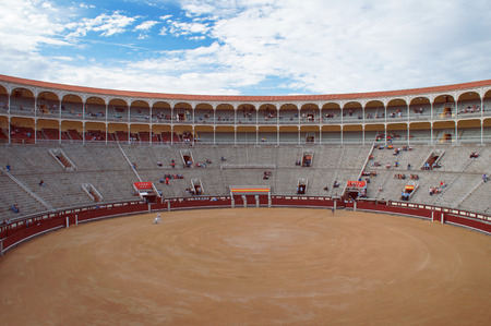 las ventas: Las Ventas arena before bullfighting show
