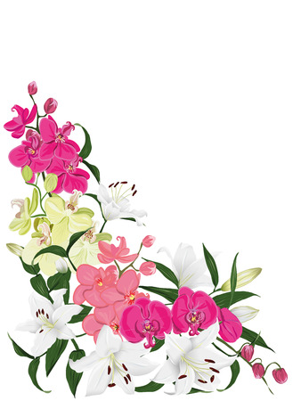 Floral ornament card