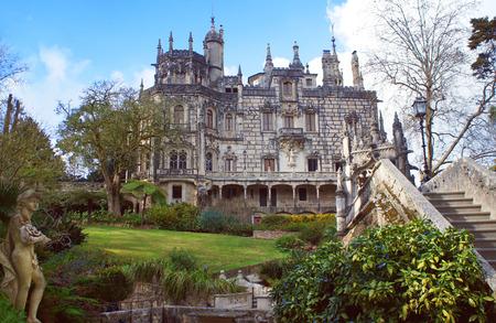quinta: Quinta da Regaleira is an estate located near the historic center of Sintra Portugal.