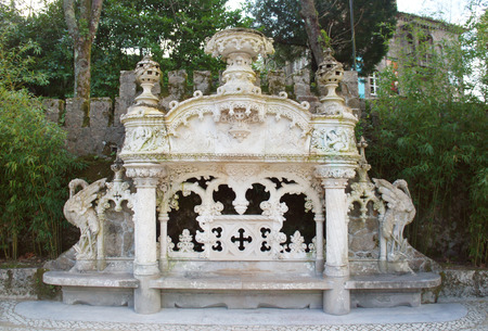 quinta: Quinta da Regaleira is an estate located near the historic center of Sintra Portugal.