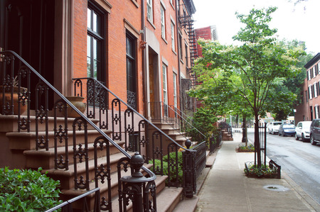 historic district: West village historic district of New York City