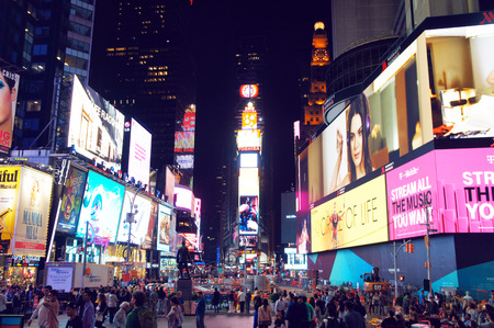 time's: Times Square by night