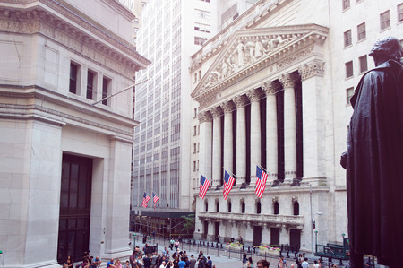 house worker: New York Stock Exchange
