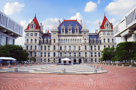 new york state: New York State Capitol in Albany, New York state capital, USA