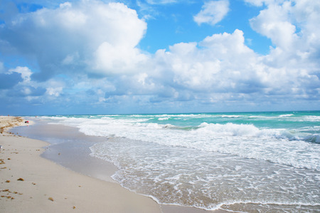 stated: South Beach of Miami, United States
