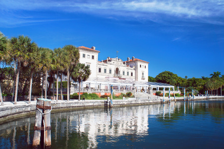 Villa Vizcaya Museum in the Miami