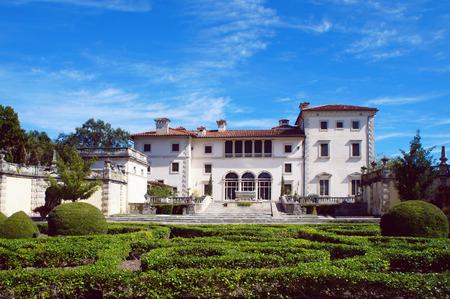 Villa Vizcaya Museum in the Miami Editoriali