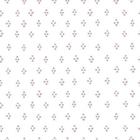 speckled: Simple round blob confetti seamless print. Speckled graphic backdrop. Illustration