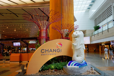 Changi Airport of Singapore