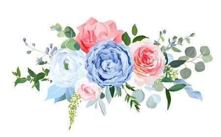 Wedding seasonal flowers. Floral composition.