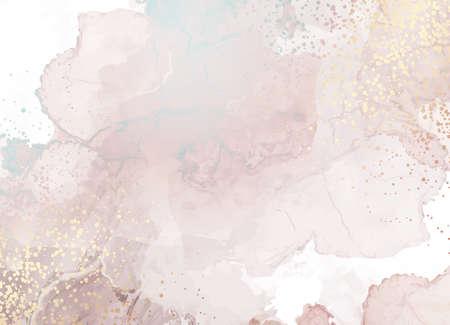 Beige quartz geode vector design frame.Stylish taupe brown glitter texture card. 일러스트