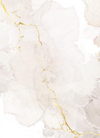 Beige quartz geode vector design frame. Stylish taupe brown texture card