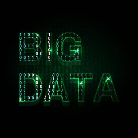 大きなデータ  イラスト・ベクター素材