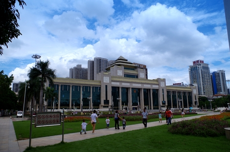 administrative buildings: Nanning Municipal Government Editorial
