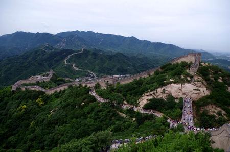 badaling: The great wall at Badaling