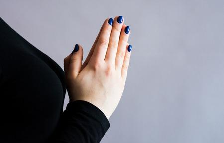 hands in pray