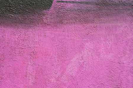 porous brick: Purple painted brick wall as background, texture