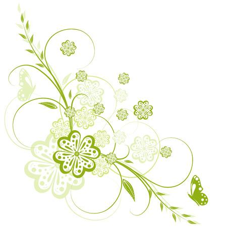 Floral background, element for your design